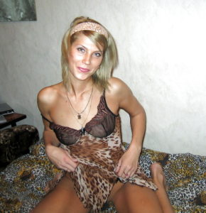 sexe nu en photo de cougar du 55